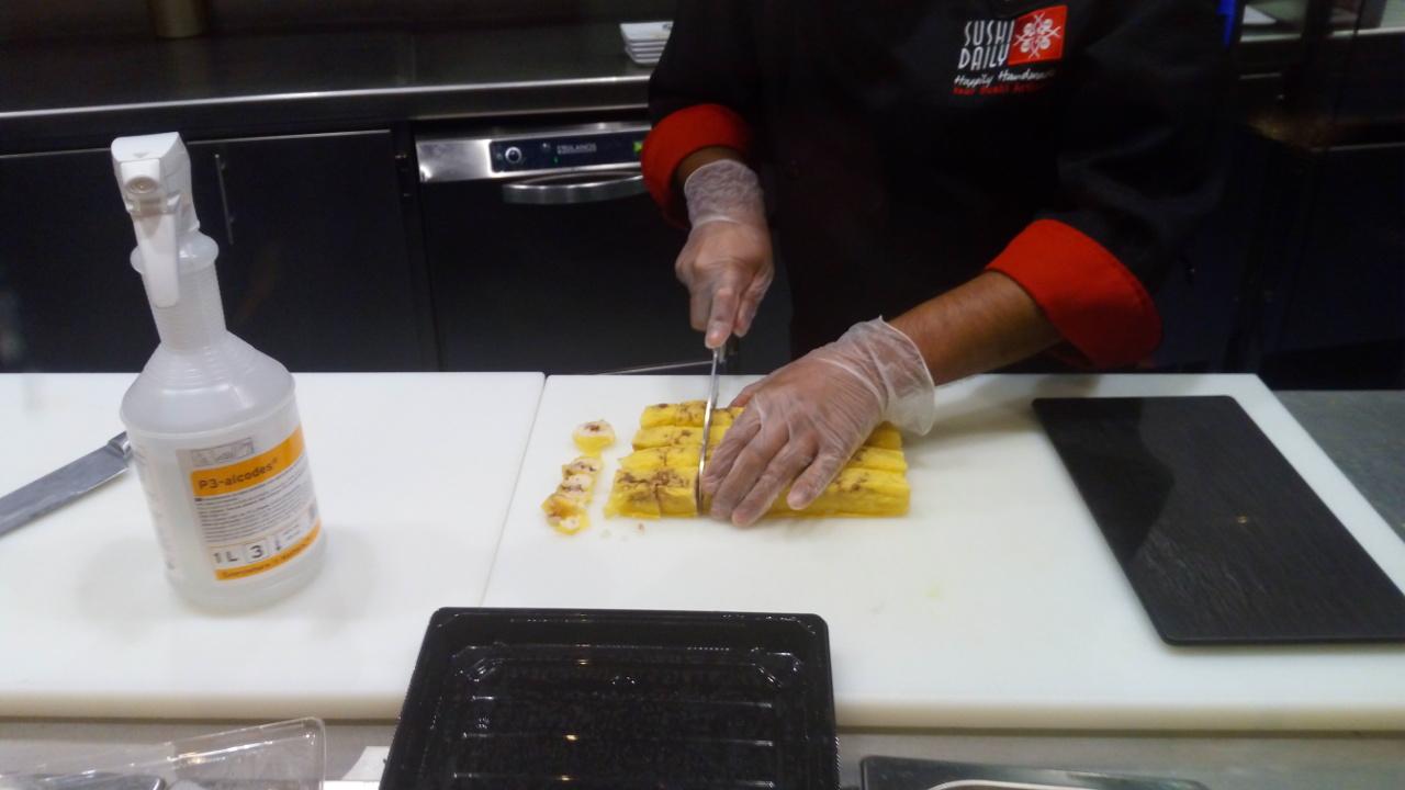preparacion-makis-banana
