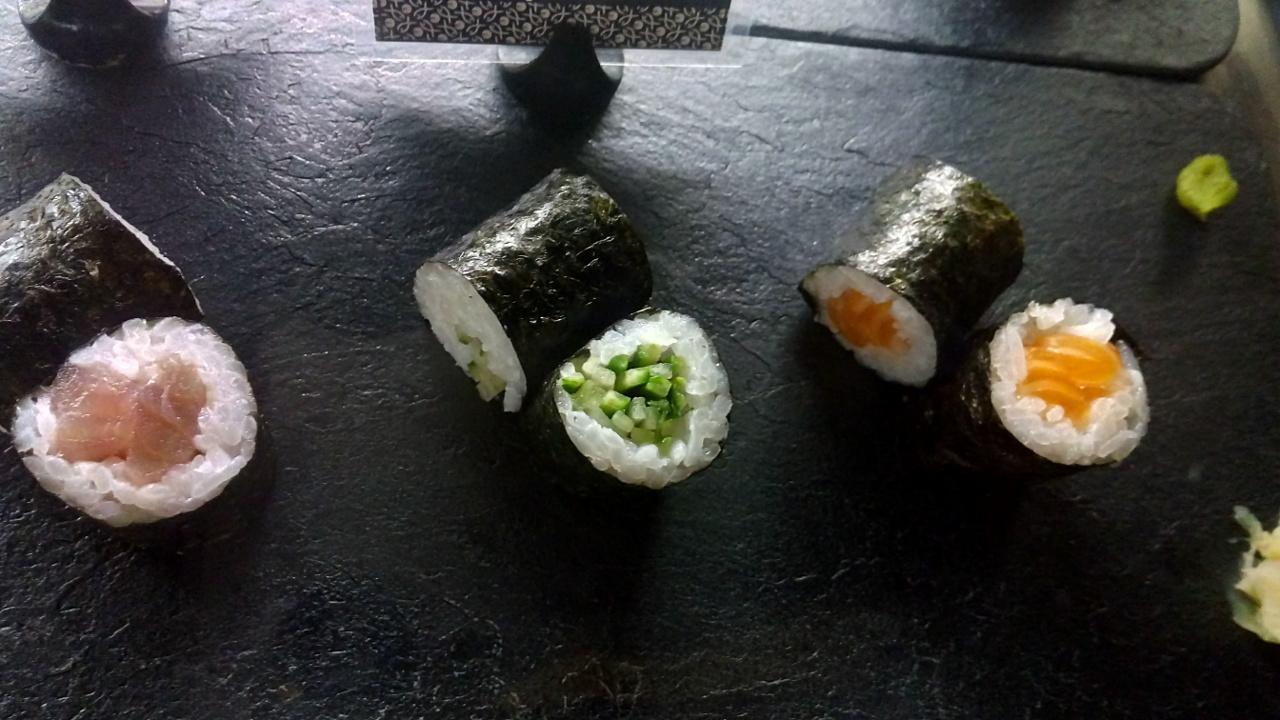 Sushi y vino, un buen maridaje
